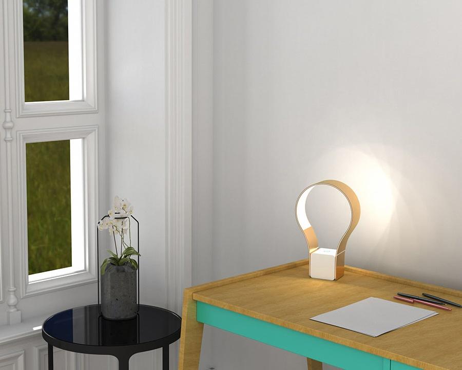 Concept de lampe de bureau LED