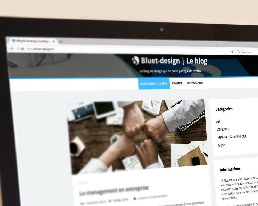 blog bluet design