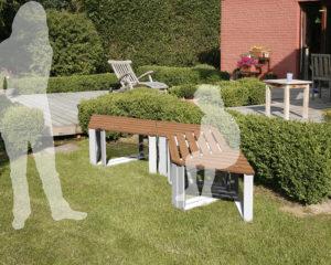 Ensemble de jardin Trias